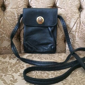 ROOTS Small leather crossbody